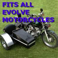 Evolve Side Car Motorcycle Sidecar Kit