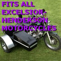 Excelsior Side Car Motorcycle Sidecar Kit