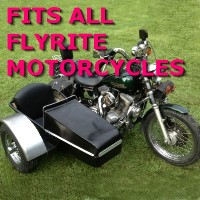 Flyrite Choppers Side Car Motorcycle Sidecar Kit