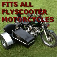 Flyscooters Side Car Motorcycle Sidecar Kit