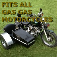 Gas Gas Side Car Motorcycle Sidecar Kit