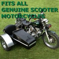 Genuine Scooter Side Car Motorcycle Sidecar Kit