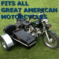 Great American Chopper Side Car Motorcycle Sidecar Kit