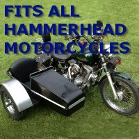 Hammerhead Side Car Motorcycle Sidecar Kit