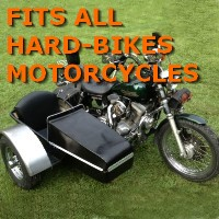Hard-Bikes Side Car Motorcycle Sidecar Kit