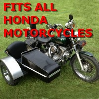 Honda Side Car Motorcycle Sidecar Kit