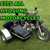 Hyosung Side Car Motorcycle Sidecar Kit