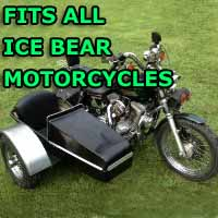 Ice Bear Side Car Motorcycle Sidecar Kit
