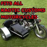 Kaotic Side Car Motorcycle Sidecar Kit