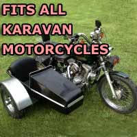 Karavan Side Car Motorcycle Sidecar Kit
