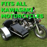 Kawasaki Side Car Motorcycle Sidecar Kit