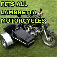 Lambretta Side Car Motorcycle Sidecar Kit