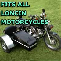 Loncin Side Car Motorcycle Sidecar Kit