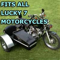 Lucky 7 Side Car Motorcycle Sidecar Kit
