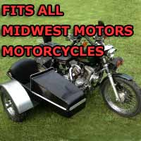 Midwest Motors Side Car Motorcycle Sidecar Kit