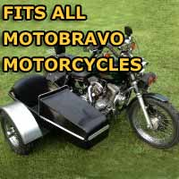 Motobravo Side Car Motorcycle Sidecar Kit