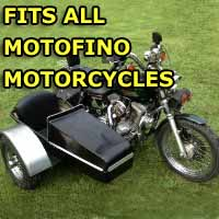 Motofino Side Car Motorcycle Sidecar Kit