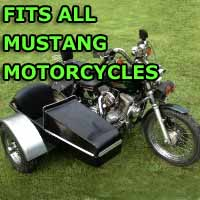 Mustang Side Car Motorcycle Sidecar Kit