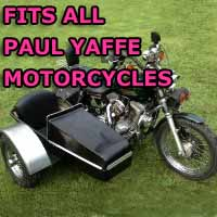 Paul Yaffe Side Car Motorcycle Sidecar Kit