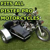 Pister Pro Side Car Motorcycle Sidecar Kit