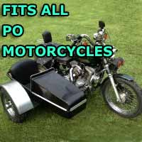 Po Side Car Motorcycle Sidecar Kit