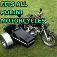 Polini Side Car Motorcycle Sidecar Kit