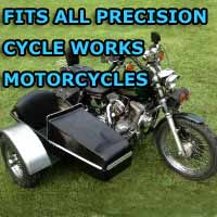 Precision Side Car Motorcycle Sidecar Kit