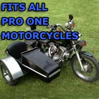 Pro One Side Car Motorcycle Sidecar Kit
