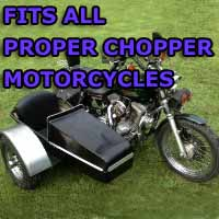 Proper Chopper Side Car Motorcycle Sidecar Kit