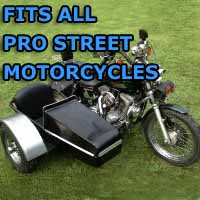 Pro Street Side Car Motorcycle Sidecar Kit