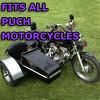 Puch Side Car Motorcycle Sidecar Kit