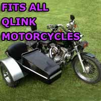 Qlink Side Car Motorcycle Sidecar Kit