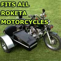 Roketa Side Car Motorcycle Sidecar Kit