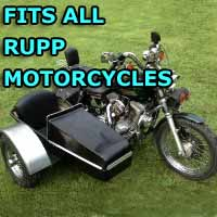 Rupp Side Car Motorcycle Sidecar Kit
