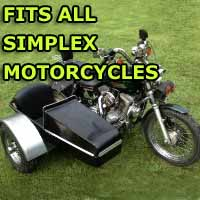 Simplex Side Car Motorcycle Sidecar Kit