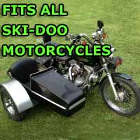Skidoo Side Car Motorcycle Sidecar Kit