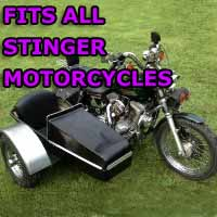 Stinger Side Car Motorcycle Sidecar Kit