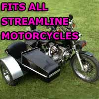 Streamline Side Car Motorcycle Sidecar Kit