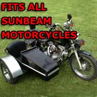 Sunbeam Side Car Motorcycle Sidecar Kit