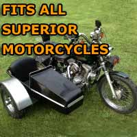 Superior Side Car Motorcycle Sidecar Kit