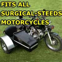 Surgical Side Car Motorcycle Sidecar Kit