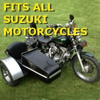 Suzuki Side Car Motorcycle Sidecar Kit