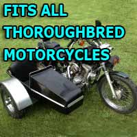 Thoroughbred Side Car Motorcycle Sidecar Kit