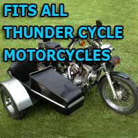 Thunder Cycle Side Car Motorcycle Sidecar Kit