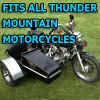 Thunder Mountain Side Car Motorcycle Sidecar Kit
