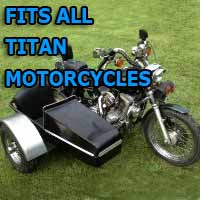Titan Mountain Side Car Motorcycle Sidecar Kit