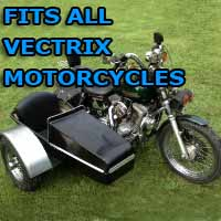 Vectrix Side Car Motorcycle Sidecar Kit