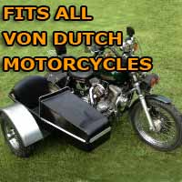 Von Dutch Side Car Motorcycle Sidecar Kit