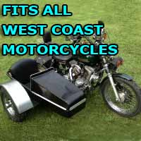 West Coast Customs Side Car Motorcycle Sidecar Kit