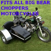 Big Bear Chopper Side Car Motorcycle Sidecar Kit